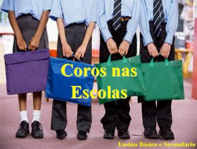 Coros nas Escolas