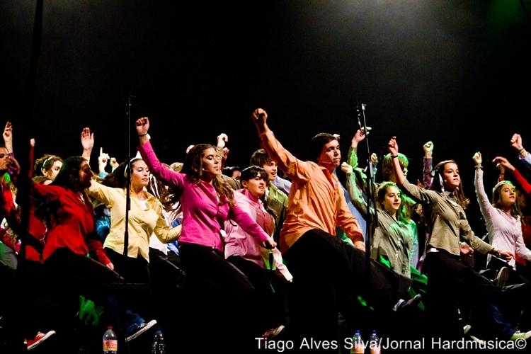 """HARDMUSICA: Vox Laci animam Tivoli com """"Show Choir"""""""